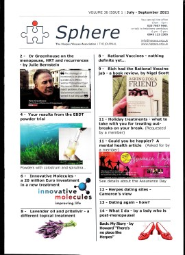 Cover of the SPHERE Magazine