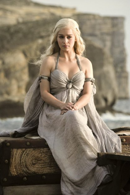 Favorite Women on TV: Khaleesi Daenerys Targaryen in Game of Thrones, via Her Philly