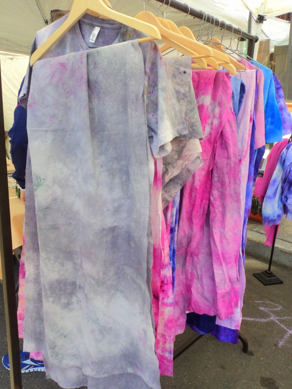 Porl Handmade Love & Found hand dyed scarves at East Passyunk Avenue Crafty Balboa Craft Fair / Her Philly