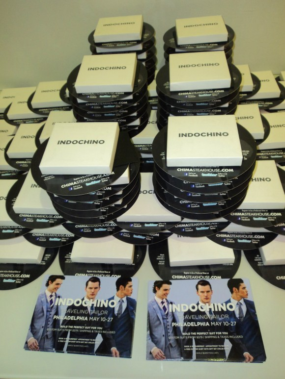 Free gifts at the Indochino Traveling Tailor media event / Her Philly