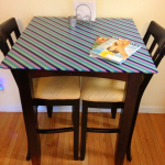 DIY Japanese Paper Washi Tape Table Top