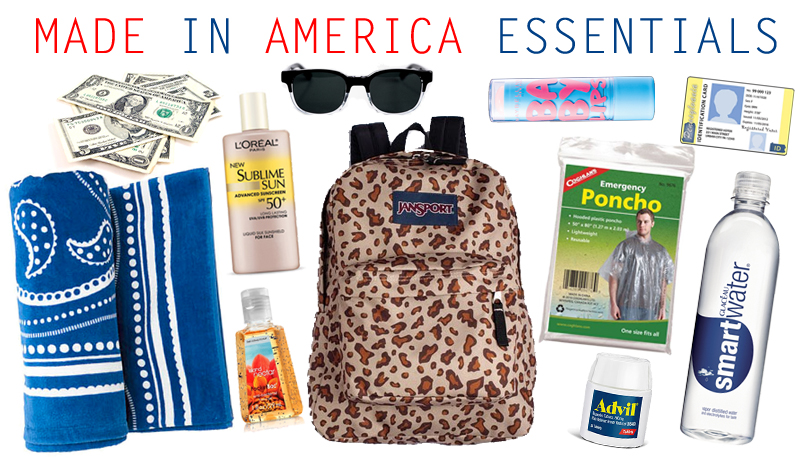 What to bring to the Budweiser Made in America Festival // Her Philly