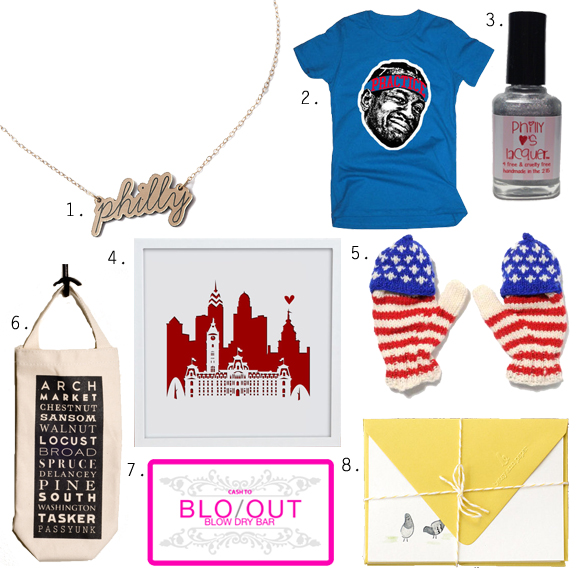 Gifts from Philadelphia for Women