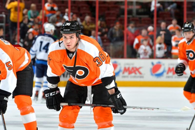 Zac Rinaldo Philadelphia Flyers