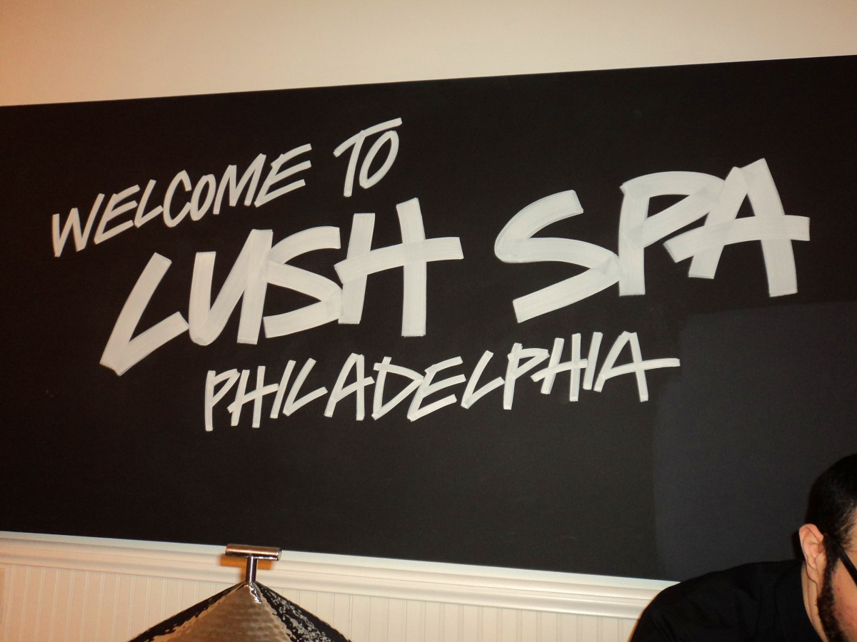 {Get Pampered} LUSH Spa Is Now Open