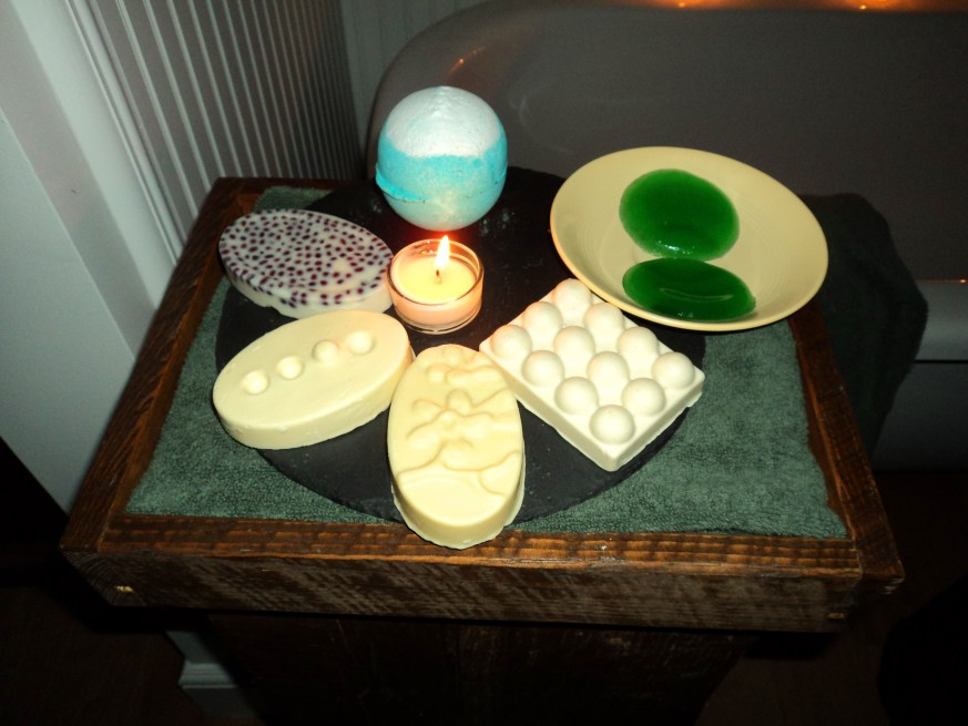 Lush Products at Philly's new Lush Spa