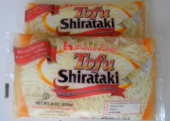 Tofu Shirataki no carb noodles from Whole Foods // Her Philly