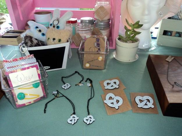 Art Star Philly pretzel jewelry // Her Philly