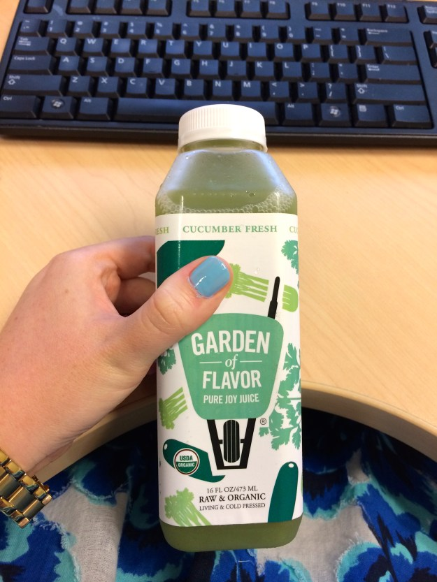 Garden of Flavor Juice #2: Cucumber Fresh // Her Philly