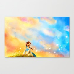 Society6 Provincial Life Belle Canvas Print // Her Philly