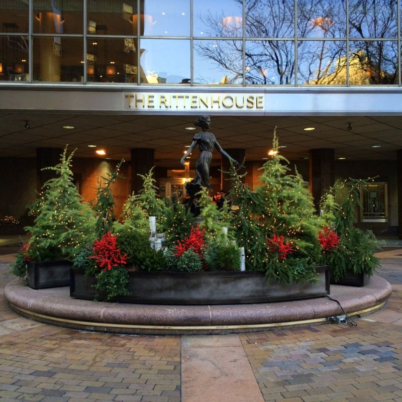 The Rittenhouse Hotel at Christmas // Her Philly