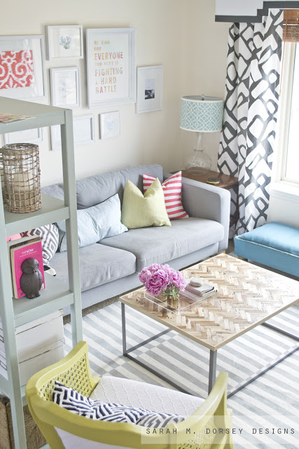 The perfect small living room