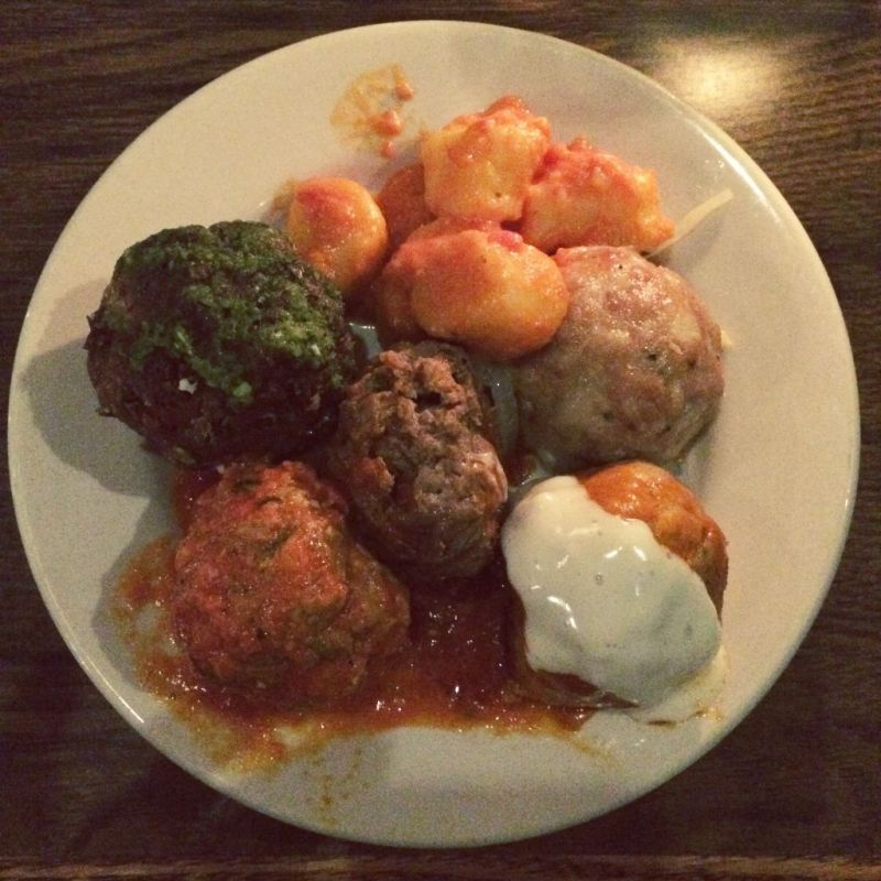 Meatballs from Me n Mo Meatballs on South Street