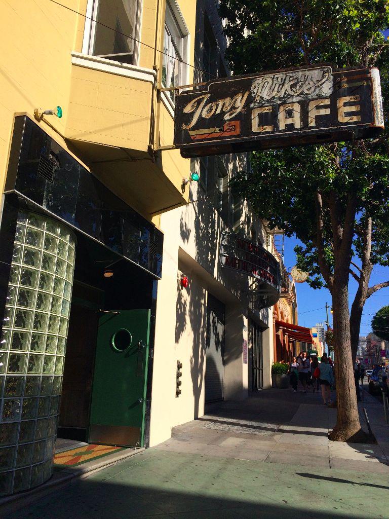 Tony Nik's cafe san francisco
