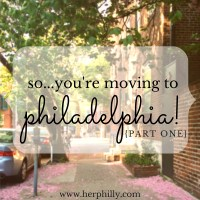 So...You're Moving to Philadelphia! {The Apartment Hunt}
