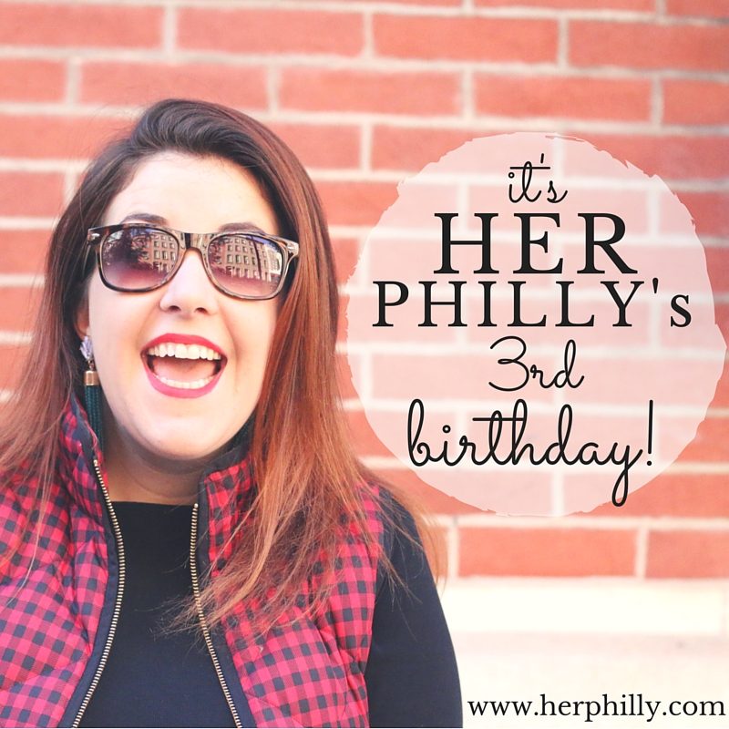 Philly Blogger Birthday