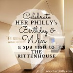 Win a Spa Visit to The Rittenhouse {HPTurns3}