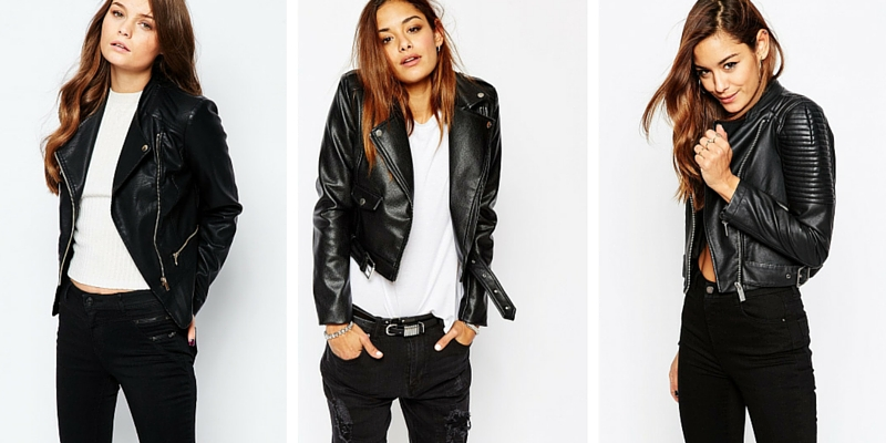 Best Leather Jackets from ASOS Winter 2016