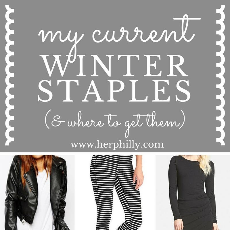 2016 Winter Staples for Women