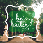 Being Better in 2017
