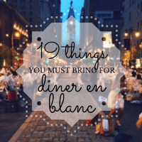 19 Items You Must Pack for Diner en Blanc
