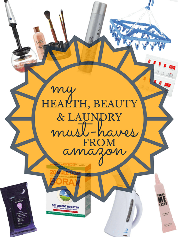 Amazon Health Beauty Laundry Favorites