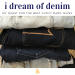 My Quest for the Best Dark Curvy Jeans