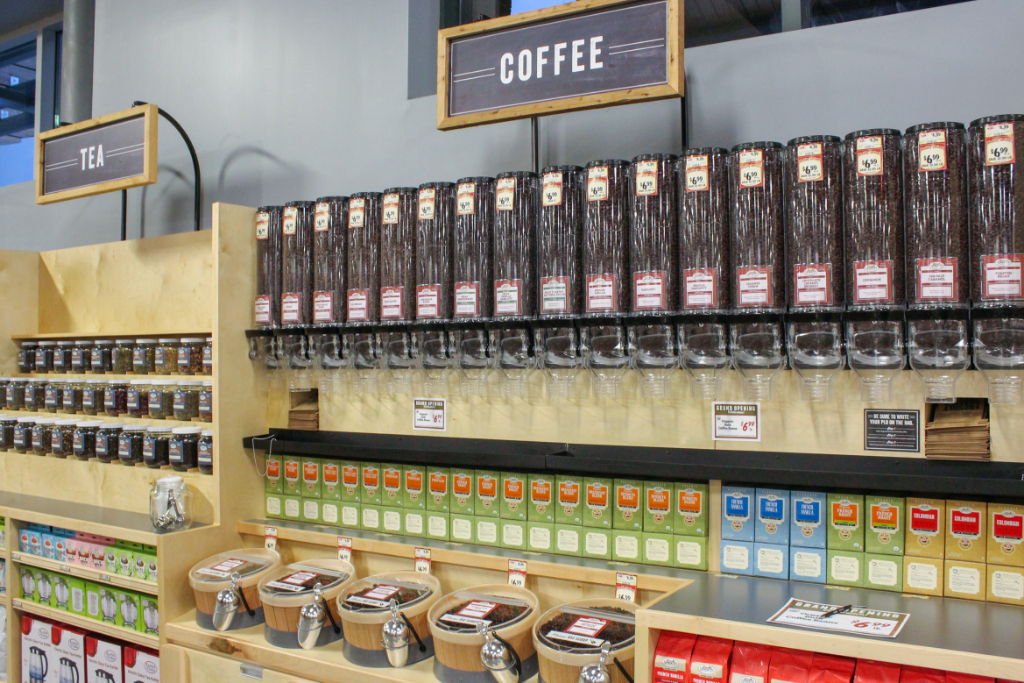 Fresh coffee at Sprouts Philadelphia