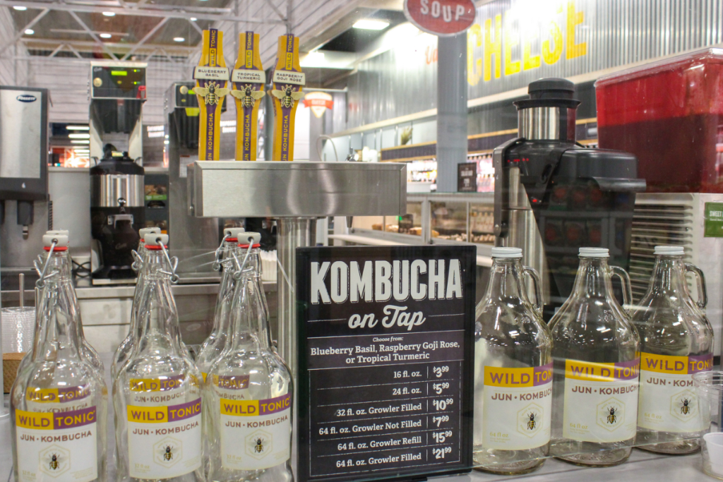 Kombucha on tap at Sprouts Philadelphia