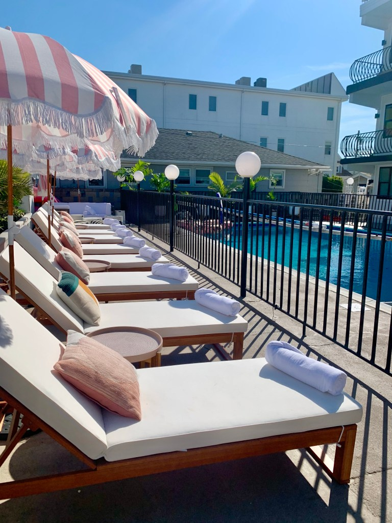 The Shore House Swim Club North Wildwood pool