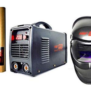Soldador IGBT 200A + Careta de Soldar + Electrodos