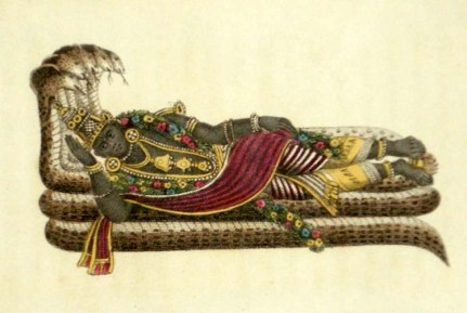 Lord Vishnu, Hindu artwork