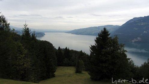 Landschaft am Thuner See