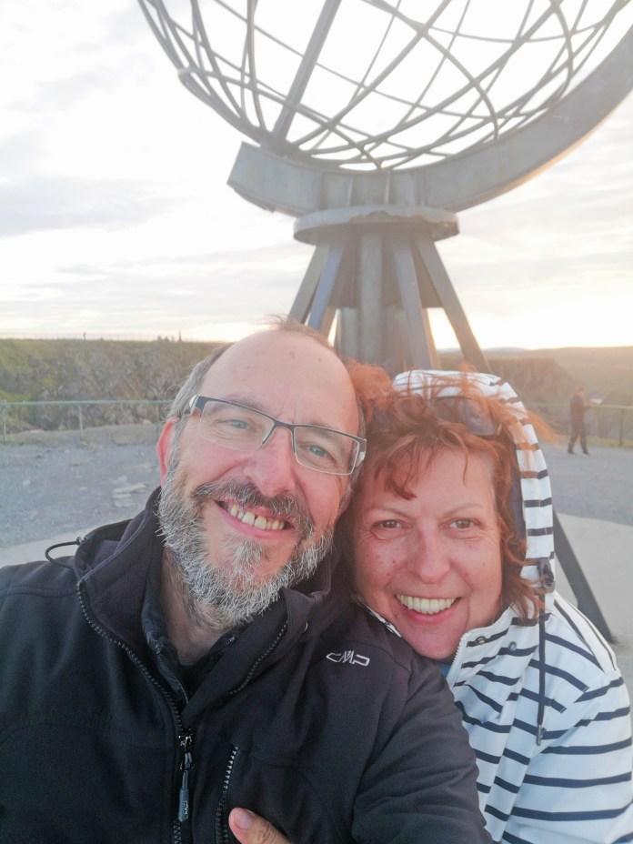 2019-09-10_Nordkap Tini und Uwe