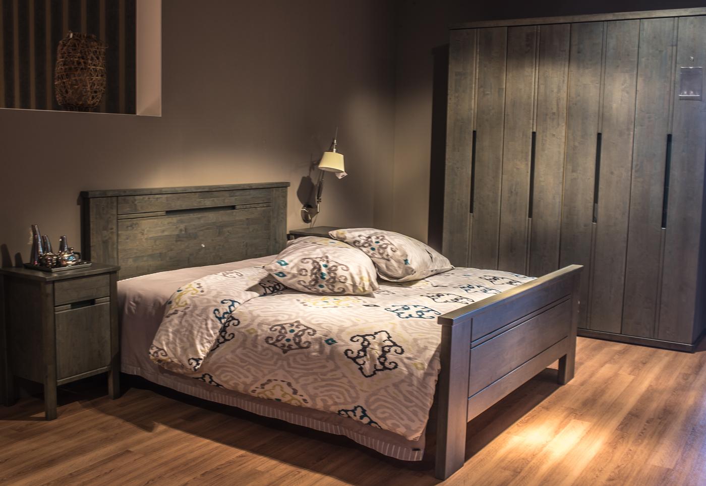 Slaapkamer warme kleuren bruin kleur van aarde maar ook