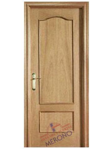 Puerta de Roble Barnizado de Interior Mod 412
