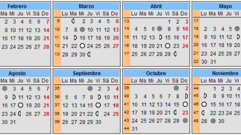 Calendario Chino De Embarazo 2016.Calendario Lunar De Embarazo Hashtoken Net