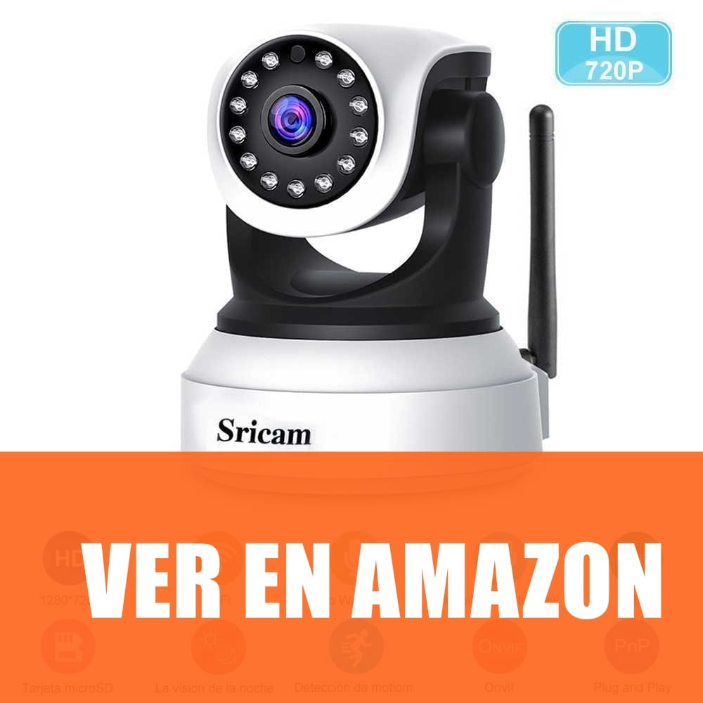 Sricam - Cámara de Vigilancia Interior