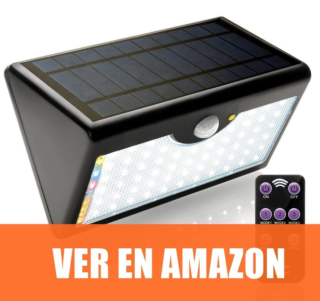 EcoSolar GLB - Lámpara Solar Con Control Remoto