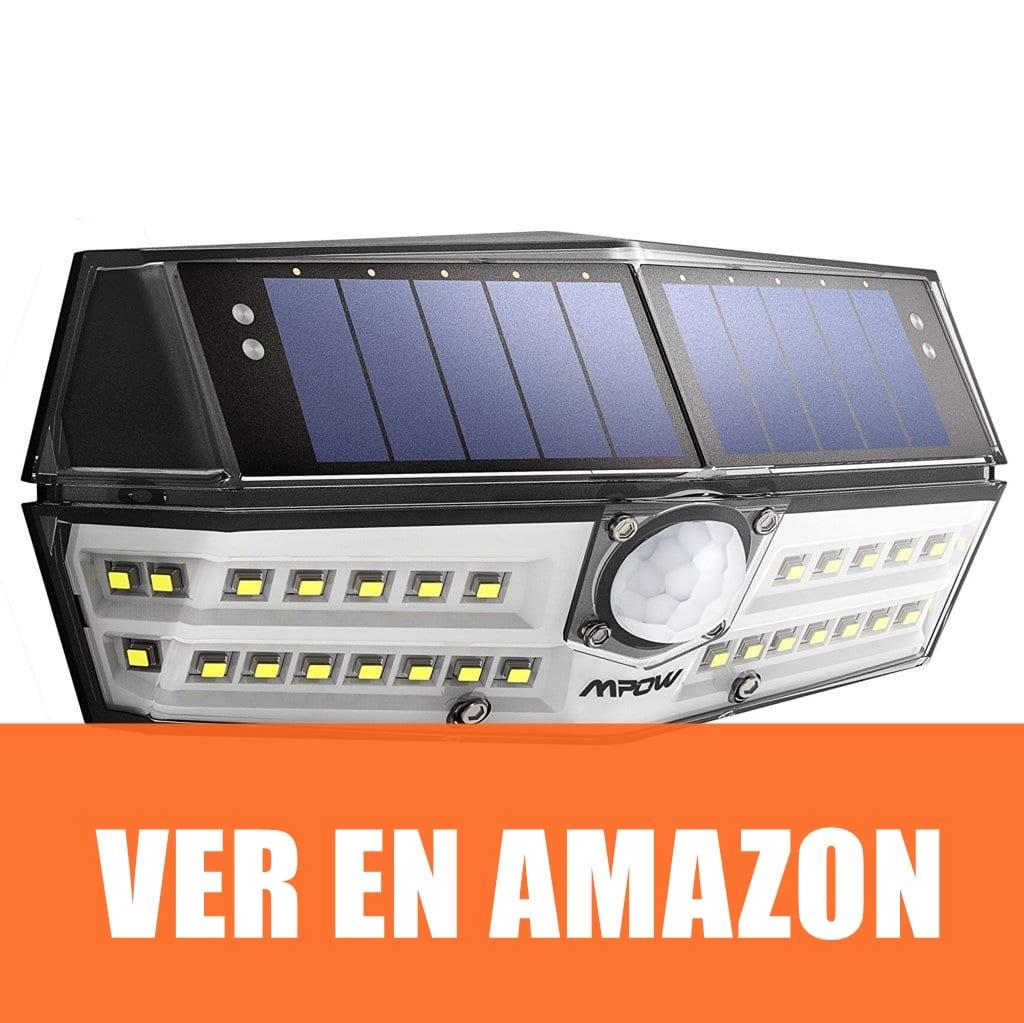 Mpow - Lámpara Solar Con Sensor De Movimiento
