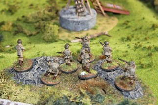 US Paras Moving on an Objective
