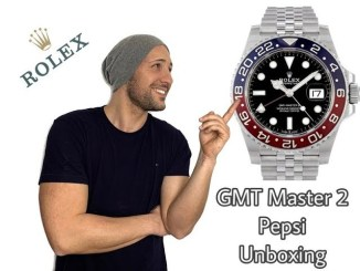 ROLEX UNBOXING Review GMT Master 2 PEPSI Ref.126710 BLRO Deutsch