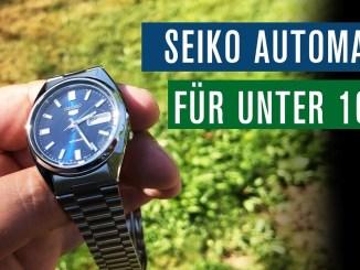 TOP! Automatikuhr für unter 100 €: Seiko SNXS77K | Test | Review