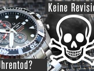 Ohne Revision macht Ihr Eure Uhr kaputt?!