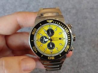 "Seiko ""Caesar"" Diver's Chronograph SNDA15P1 7T92-0JG0 deutsch"