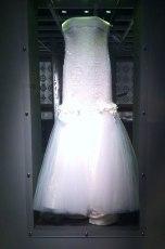 Renda Renascença em vestido de noiva de Martha Medeiros