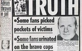 'The Sun's forhadte forside, der gav Liverpools fans skylden efter Hillsborough-tragedien