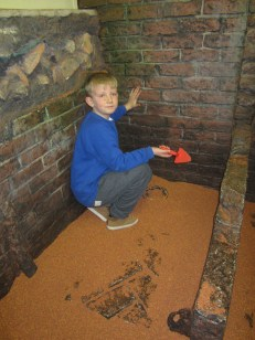Dylan has found the remains of a Viking toilet!