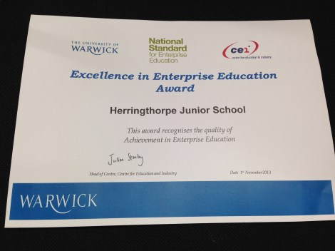 Excellence in Enterprise Certificate
