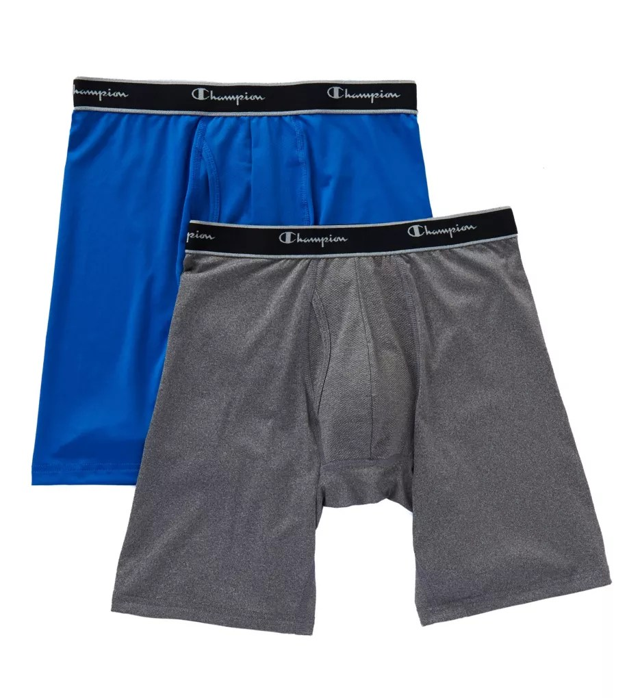 Champion Tplb X-temp Tech Performance Long Boxer Briefs